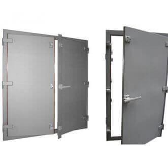 Portes de cage Faraday blindées par EMI / RFI