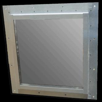 Faraday cage windows
