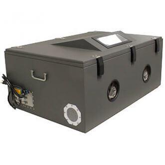 Boîte de test blindée RF
